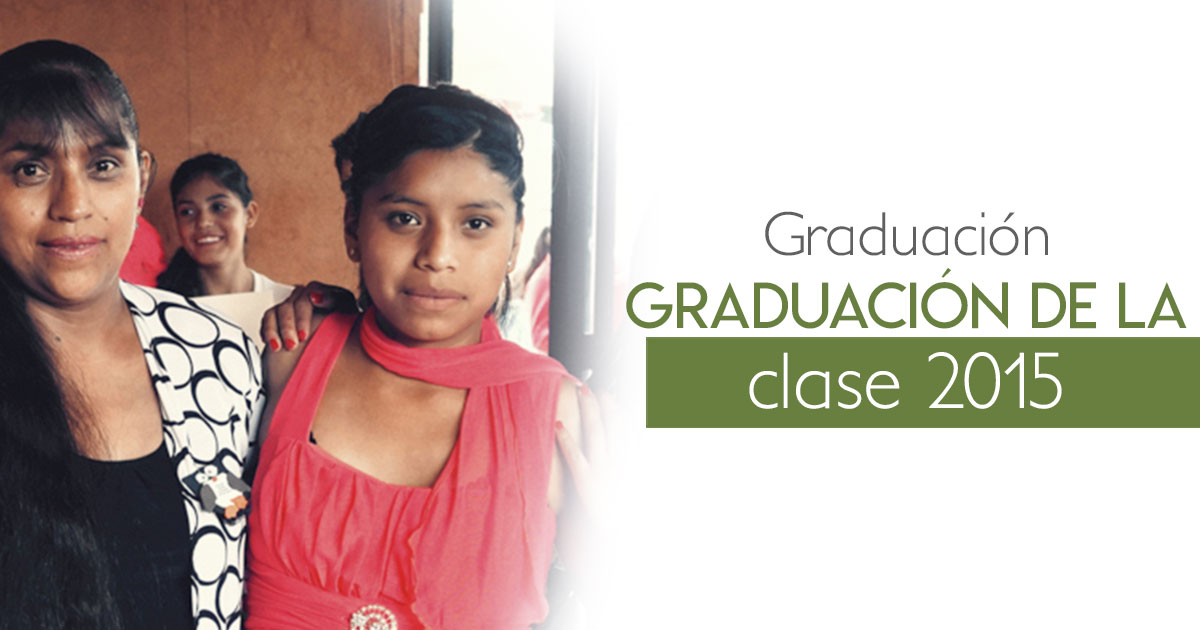 Graduación de la clase 2015