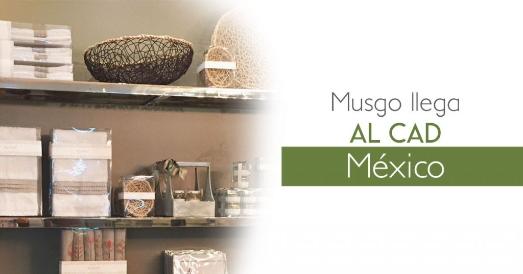 Musgo llega al CAD México