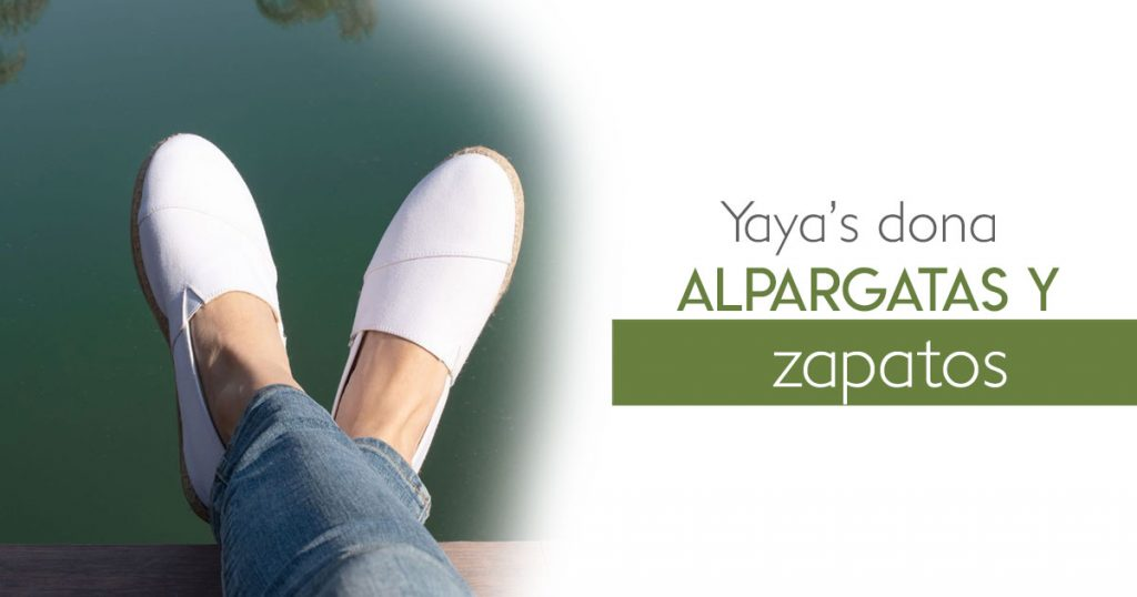 Yaya's dona alpargatas y zapatos