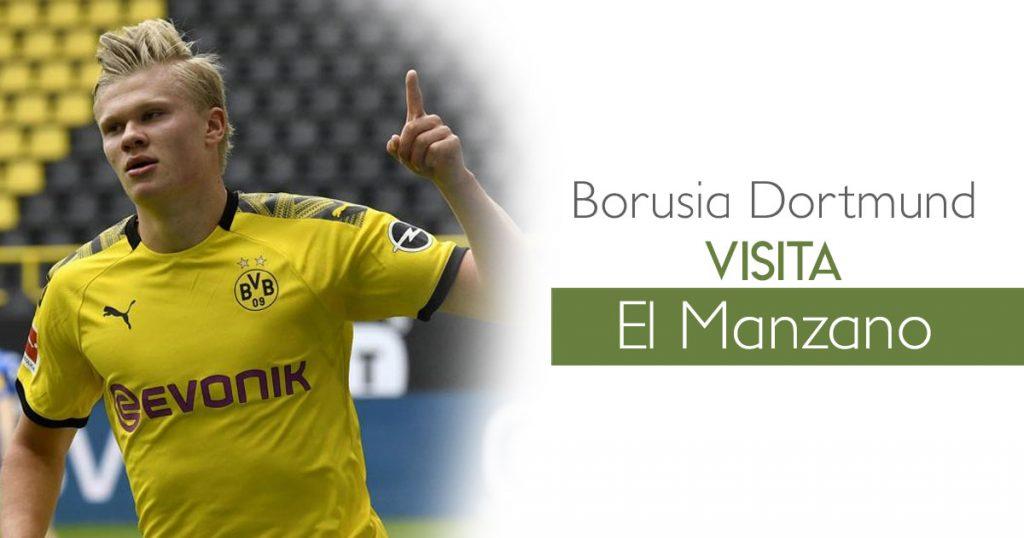 BORUSIA DORTMUND VISITA EL MANZANO