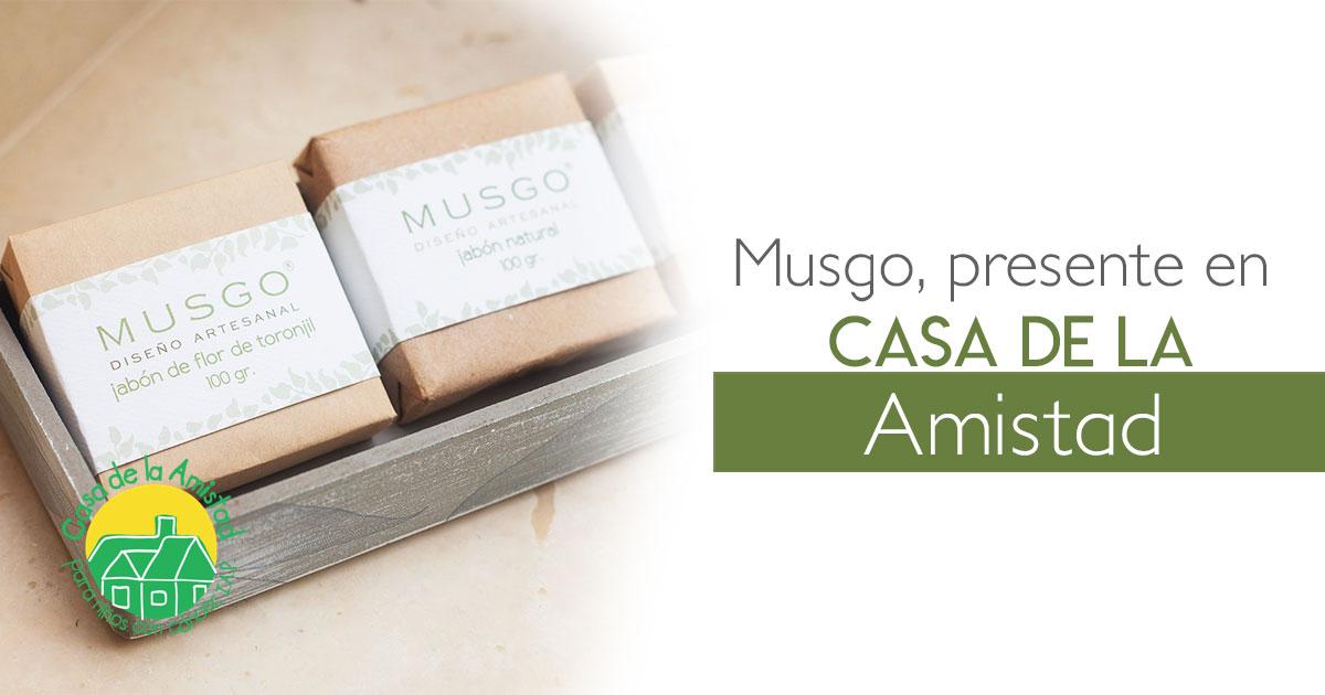 Musgo, presente en Casa de la Amistad