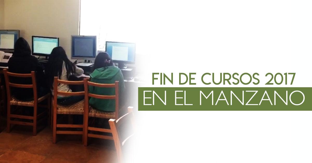 Fin de cursos 2017 en el Manzano
