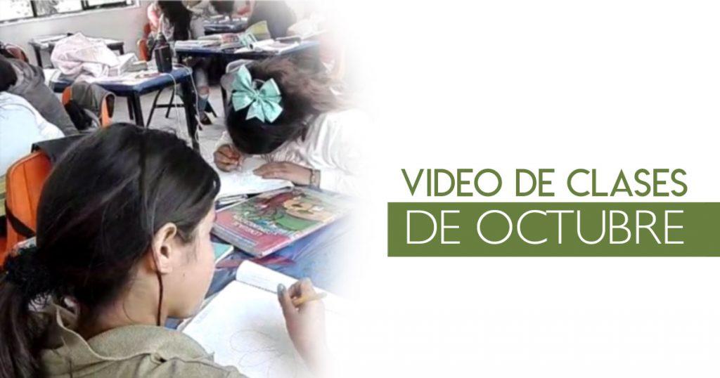 Video de clases de octubre