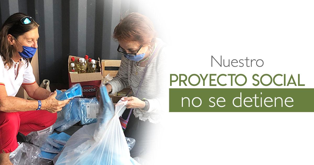Nuestro proyecto social, no se detiene