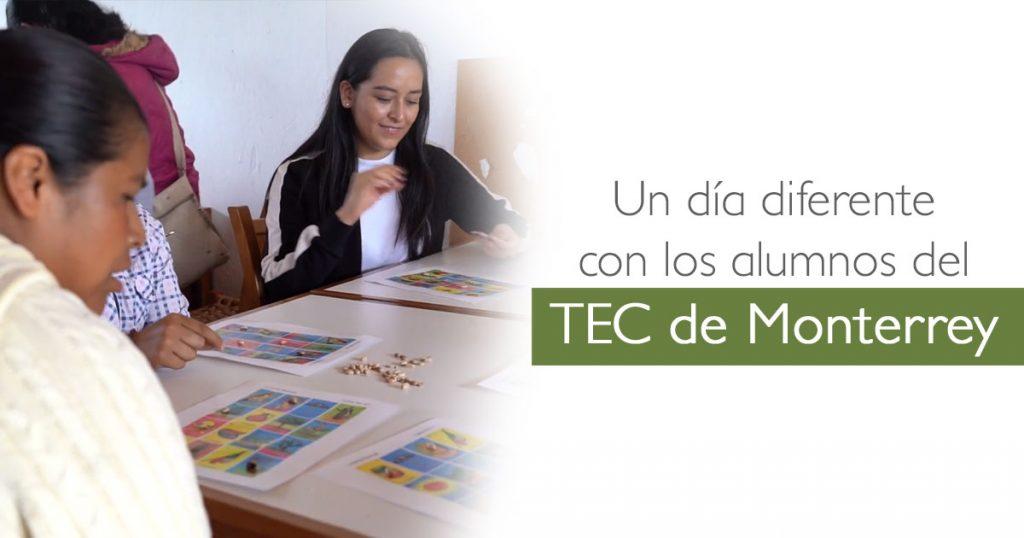 Un día diferente con los alumnos del TEC de Monterrey