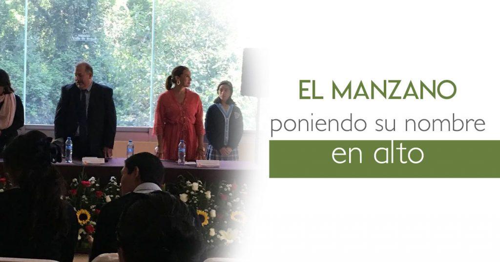 El Manzano poniendo su nombre en alto