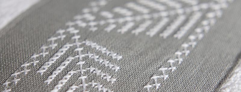 Textura del lino