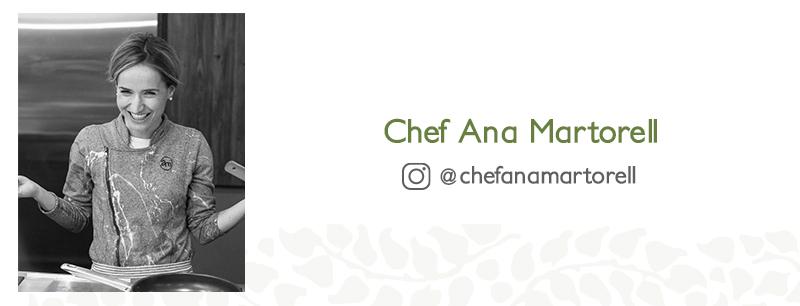 MUSGO en tu cocina con la chef Ana Martorell
