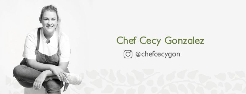 La Chef Cecy Gon también participó en MUSGO en tu cocina